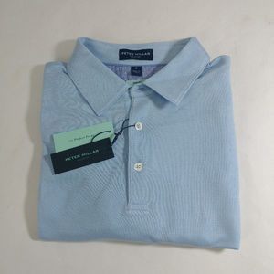 Peter Millar Collection Men Size M Polo Blue